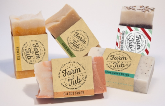 Farm to Tub Soaps