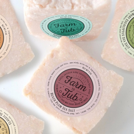 Farm to Tub Salt Soaps