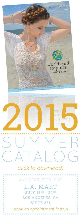 2015 Summer Catalog Blast