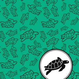 Sea Turtle Pattern