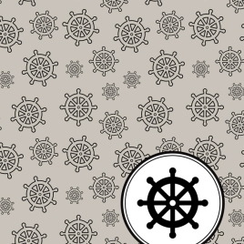 Ship Wheel Pattern